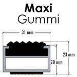 Maxi mit Gummi