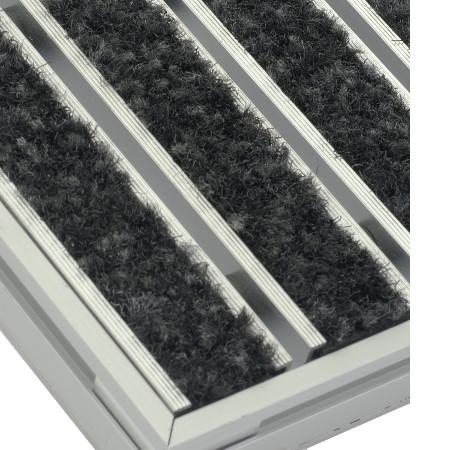 Mattensystem mit saugfähigem Textil