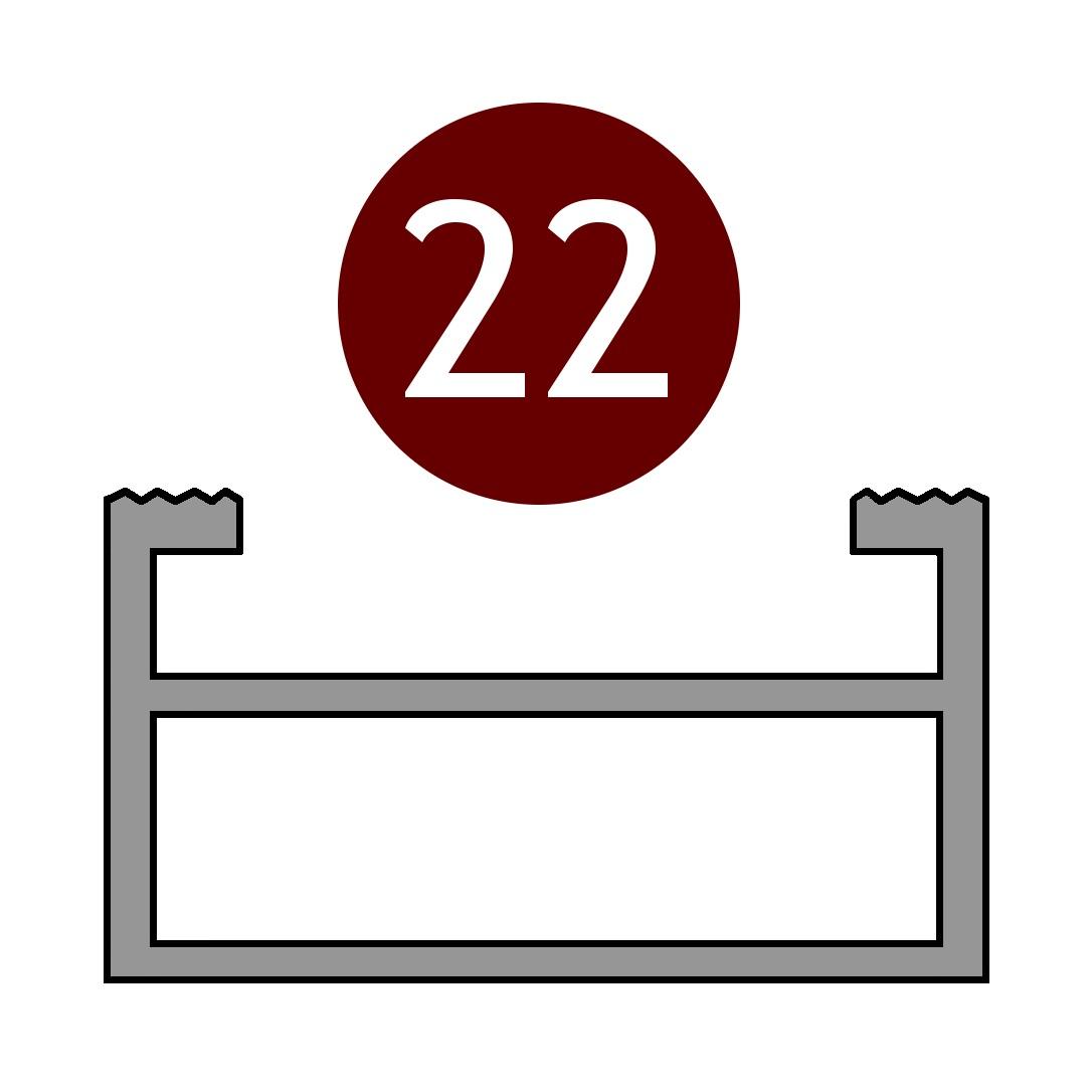Alutrend-Maxi-22-profil