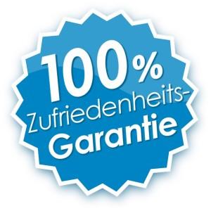 100% Kundenzufriedenheitsgarantie